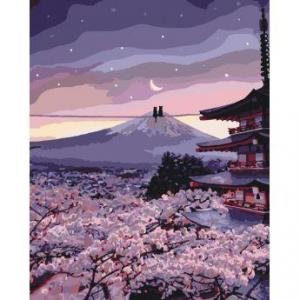 Фото Картины на холсте по номерам, Картины  в пакете (без коробки) 50х40см; 40х40см; 40х30см, Пейзаж, морской пейзаж. KHO 3527