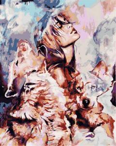 Фото Картины на холсте по номерам, Романтические картины. Люди VP 977