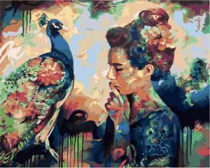 Фото Картины на холсте по номерам, Романтические картины. Люди VP 980