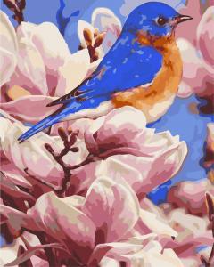 Фото Картины на холсте по номерам, Животные. Птицы. Рыбы... AS 0279