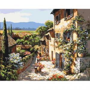 Фото Картины на холсте по номерам, Городской пейзаж KH 2232