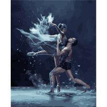 Фото Картины на холсте по номерам, Романтические картины. Люди KH 4513