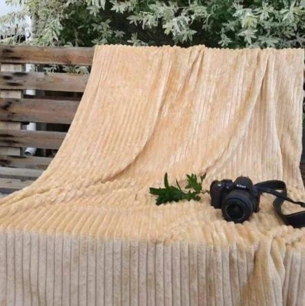 Плед шарпей персик            размер: 200х220 см