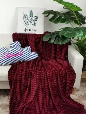 Плед шарпей бордо            размер: 200х220 см