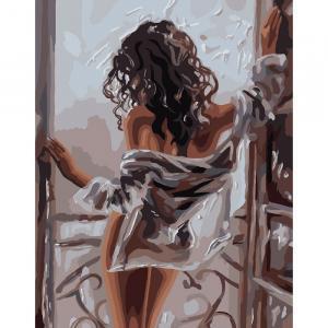 Фото Картины на холсте по номерам, Романтические картины. Люди KH 4602 Женская красота Роспись по номерам на холсте 40х50см