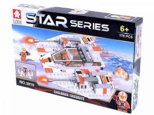 Фото Конструкторы, Конструкторы типа «Лего», Космос, Star Wars 3810 Звездолет Конструктор серии «Star»  178 дет.