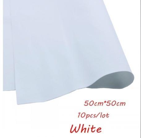 Фото Новинки Фоамиран  50 * 50 см.   толщина  1 мм.     Белый.
