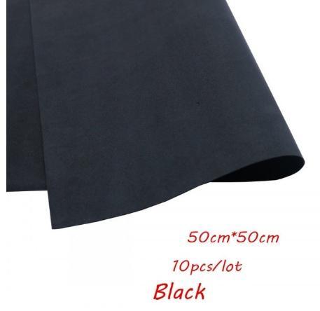 Фото Экокожа  с  глитером ,  и  Фоамиран  гладкий  и  с  глитером ,  Фоамиран  50 * 50 см.   толщина  1 мм.   Чёрный .