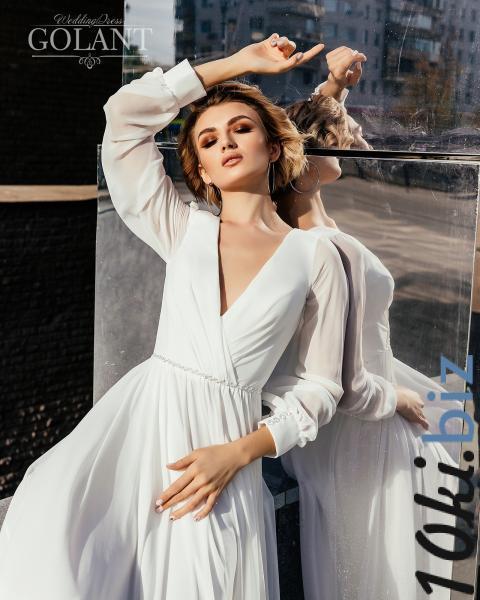 Свадебные платья - Непышное легкое летнее свадебное платье Алекса