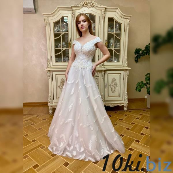Свадебные платья - Блестящее свадебное платье Ландыш