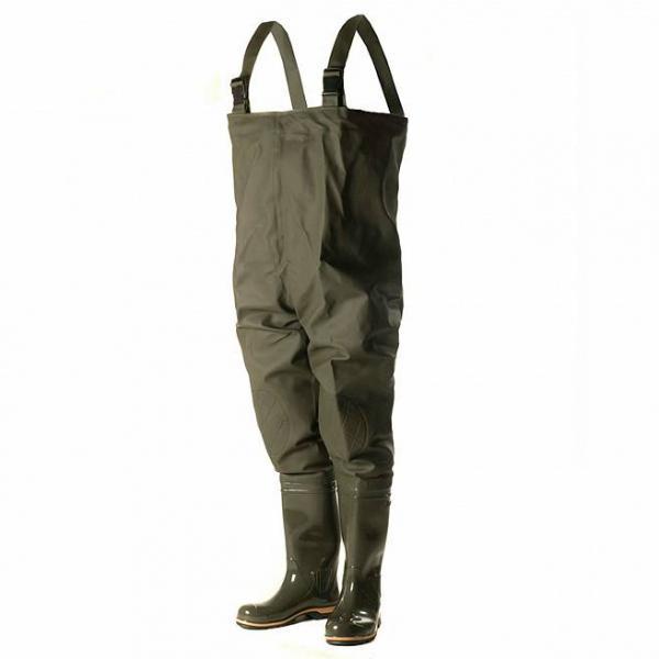 Фото Одежда, обувь для охоты и рыбалки, Забродные комбинезоны  Рыбацкий полукомбенизон ПВХ