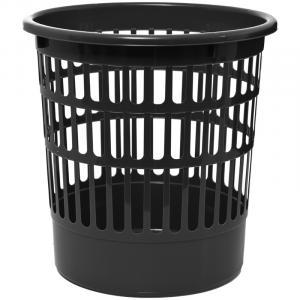 Фото Хозяйственные товары (ЦЕНЫ БЕЗ НДС), Корзина для мусора, урна для бумаг Корзина для бумаг OfficeClean, 09л, сетчатая, черная