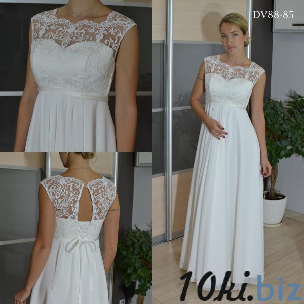 Свадебные платья - Легкое непышное свадебное платье Флора