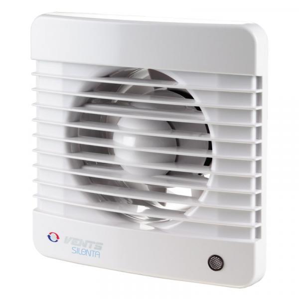 Фото Вентиляция, Бытовые вентиляторы, Осевые энергосберегающие вентиляторы с низким уровнем шума Вытяжной вентилятор Вентс 150 Силента-М ТР