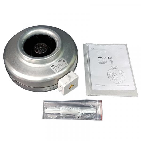 Фото Вентиляция, Промышленные вентиляторы, Вентиляторы для круглых каналов Канальный вентилятор Salda VKAР 250 MD
