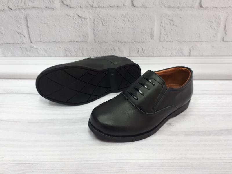 Детские кожаные туфли на мальчика с 27-35 размер. Украина 28