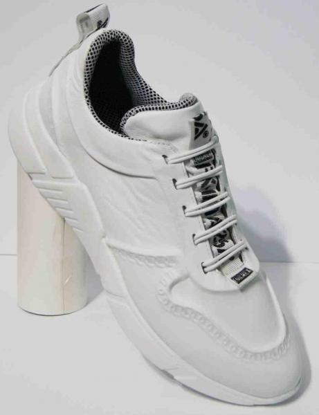 Женские кожаные белые кроссовки с 36-43рр. Украина 38