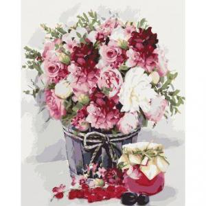 Фото Картины на холсте по номерам, Букеты, Цветы, Натюрморты KH 2088