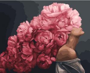 Фото Картины на холсте по номерам, Романтические картины. Люди KGX 33737 Страстная. Эми Джад Картина по номерам на холсте 40х50см