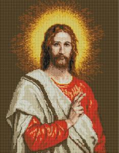 Фото  GF 2711 Сын Божий Набор для творчества алмазная живопись 40х50 см