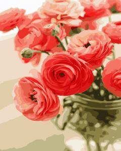 Фото Картины на холсте по номерам, Букеты, Цветы, Натюрморты AS 0678 Цветы для любимой Картина по номерам на холсте Art Story 40x50см