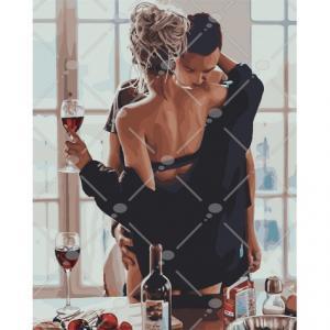 Фото Картины на холсте по номерам, Романтические картины. Люди KH 4573