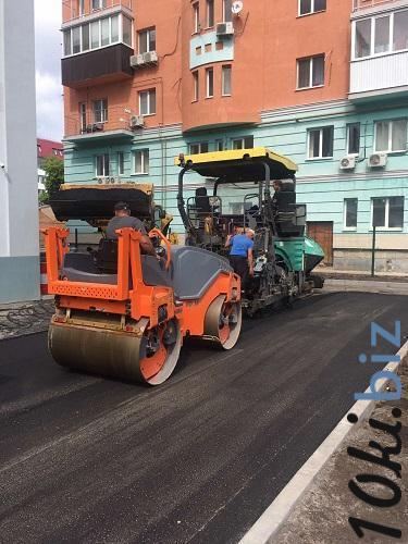 Услуги по строительству - Асфальтирование дорог