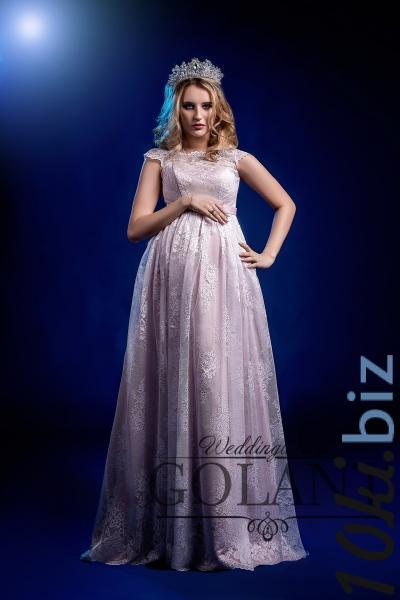 Свадебные платья - Кружевное свадебное платье для беременных Лейла