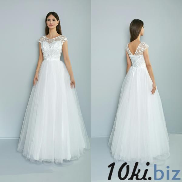 Свадебные платья - Легкое летнее свадебное платье Матильда