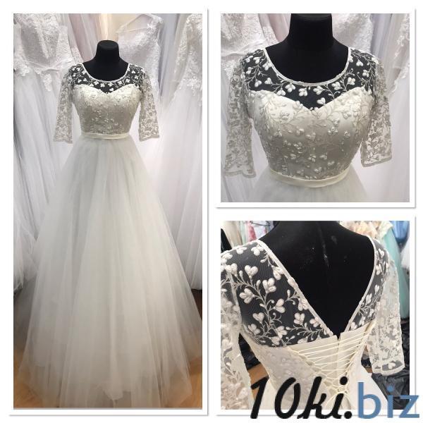 Свадебные платья - Легкое с рукавами свадебное платье для беременных Джессика