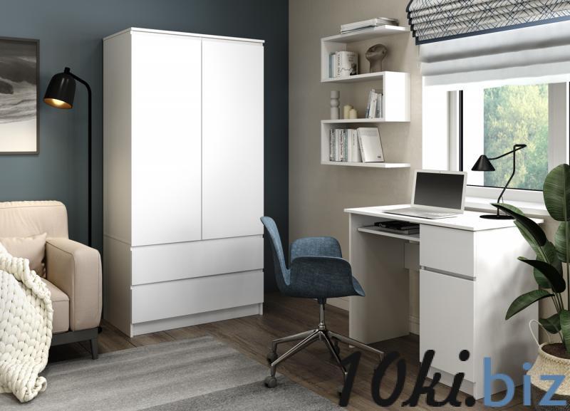 Шкафы для спальни - Шкаф Мори МШ 900.1 (ДСВ)