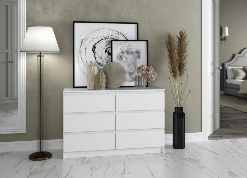Фото Детская мебель, Шкафы, комоды, тумбы Комод Мори 1200.6 (ДСВ)