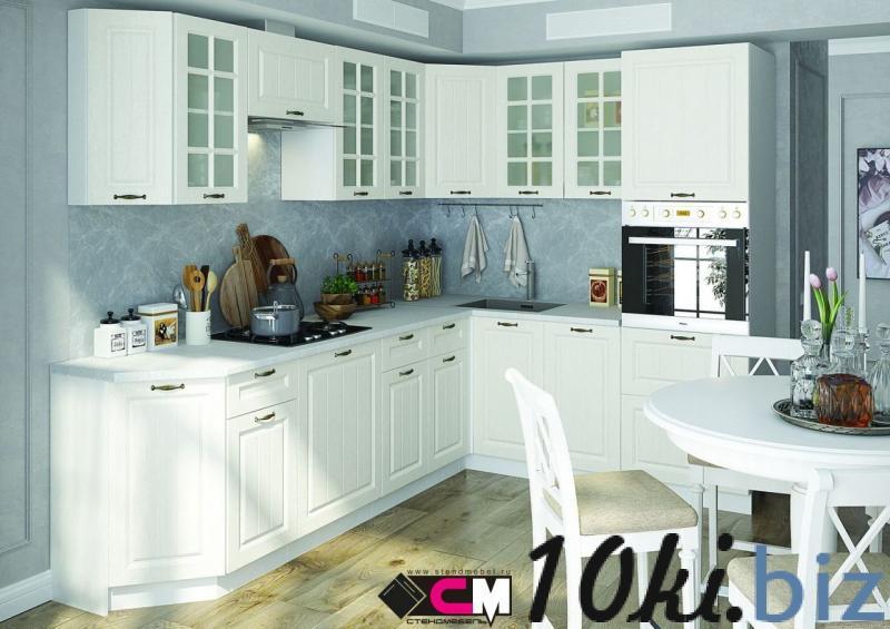 Кухонные гарнитуры - Кухня Мария МДФ белый (Стендмебель)