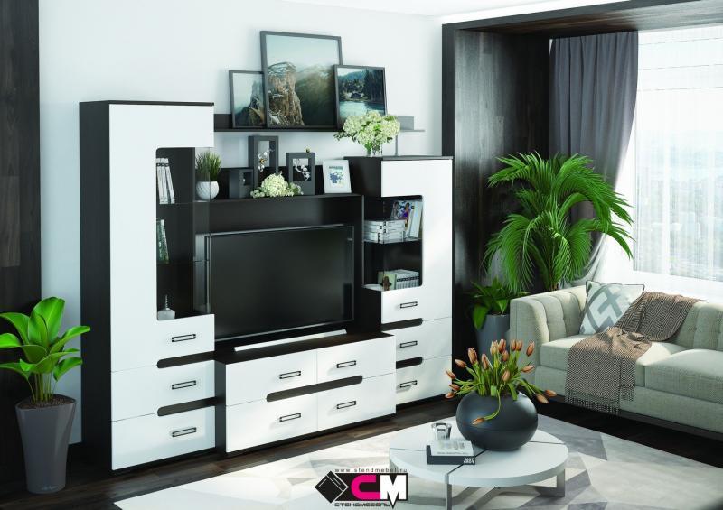 Фото Стенки и мебель для гостиной  Гостиная Града 3200мм (Стендмебель)