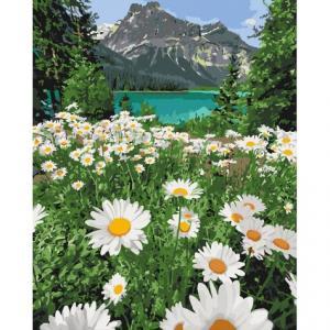 Фото Наборы для вышивания, Вышивка крестом с нанесенной схемой на конву, Пейзаж KH 2819 Красота природы Картина по номерам на холсте 40х50см