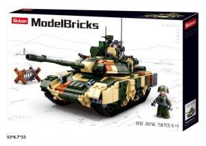 Фото Конструкторы, Конструкторы типа «Лего», Милитари (армия и флот) M38-B0756 Конструктор Танк 4, 758дет.