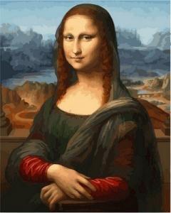 Фото Картины на холсте по номерам, Романтические картины. Люди VP 548