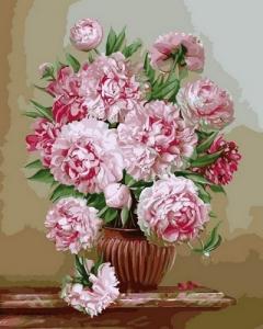 Фото Картины на холсте по номерам, Букеты, Цветы, Натюрморты VP 572