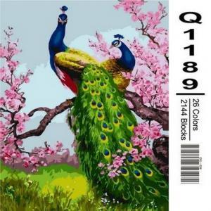 Фото Картины на холсте по номерам, Животные. Птицы. Рыбы... Q1189