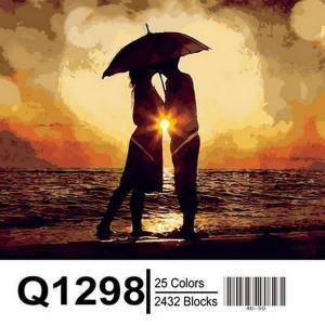 Фото Картины на холсте по номерам, Романтические картины. Люди Q1298