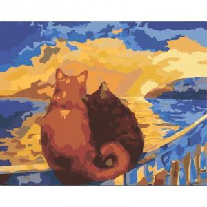 Фото Картины на холсте по номерам, Животные. Птицы. Рыбы... KH 2438