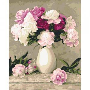 Фото Картины на холсте по номерам, Букеты, Цветы, Натюрморты KH 2084