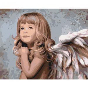 Фото Картины на холсте по номерам, Дети на картине KH 2309