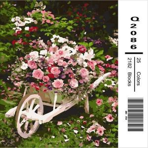 Фото Картины на холсте по номерам, Букеты, Цветы, Натюрморты Q2086