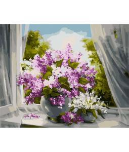 Фото Картины на холсте по номерам, Букеты, Цветы, Натюрморты KH 2073