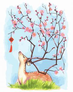 Фото Картины на холсте по номерам, Животные. Птицы. Рыбы... KGX 3500