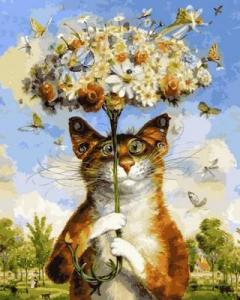 Фото Картины на холсте по номерам, Животные. Птицы. Рыбы... Q2124