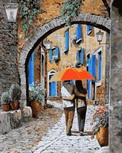 Фото Картины на холсте по номерам, Романтические картины. Люди Q2117