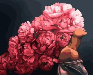 Фото Картины на холсте по номерам, Романтические картины. Люди Q 2234 Страстная Эми Джадд Роспись по номерам на холсте 40х50см
