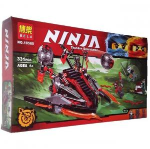 Фото Конструкторы, Конструкторы типа «Лего», Ниндзя Го (Ninja Go) 10580 Конструктор Ninjago Bela Алый захватчик, 331 дет.